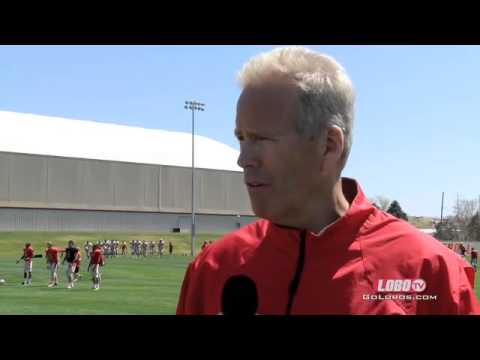 2014 Lobo Football | Coach Bob Davie: Spring Practice #3 Press Conference