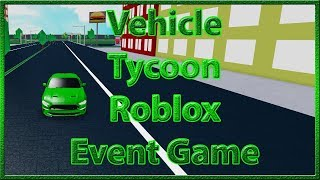 Vehicle Tycoon | Roblox LiveOps / Developer Events | This Week on Roblox Event