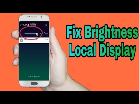 How To Fix 100% Android Brightness Problem