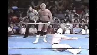 Mr Wrestling II vs Magnum T A
