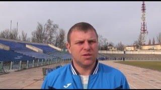 """Главный тренер ФК """"Кристалл"""" Херсон Сергей Шевцов"""