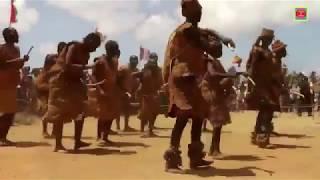 African Zulu Tribes Traditional  Dance