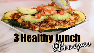 Easy Quick Healthy Lunch Ideas & Tips! MissLizHeart