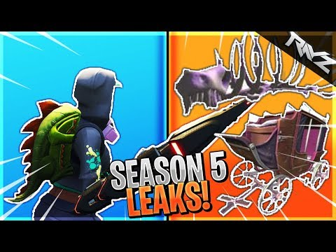 NEW DESERT SKELETON & WILD WEST IMAGES LEAKED! FORTNITE SEASON 5 HUGE LEAKS CONFIRMED! (Fortnite BR)