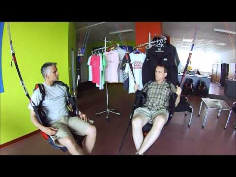 What paraglider designs go into production according to Petr Recek at MAC PARA