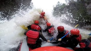 Dope ride on La Rouge River at Propulsion Rafting