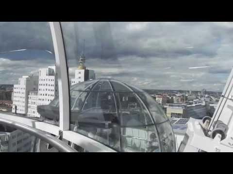 Sky View über Stockholm, Schweden