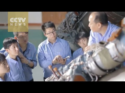 China's craftsmen: Building China's fighter jets