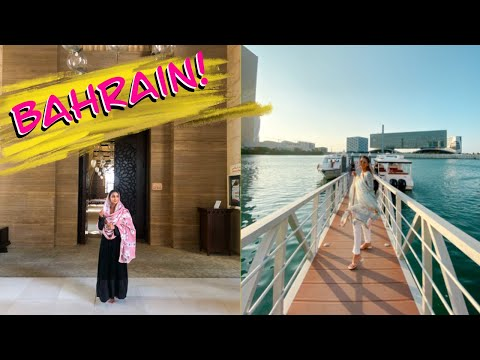 VLOG: COME WITH ME TO BAHRAIN!