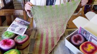Tiverton Bead and Wool Shop review of Scheepjes Whirl and Crochet Between the Lines Shawl (CBTL)