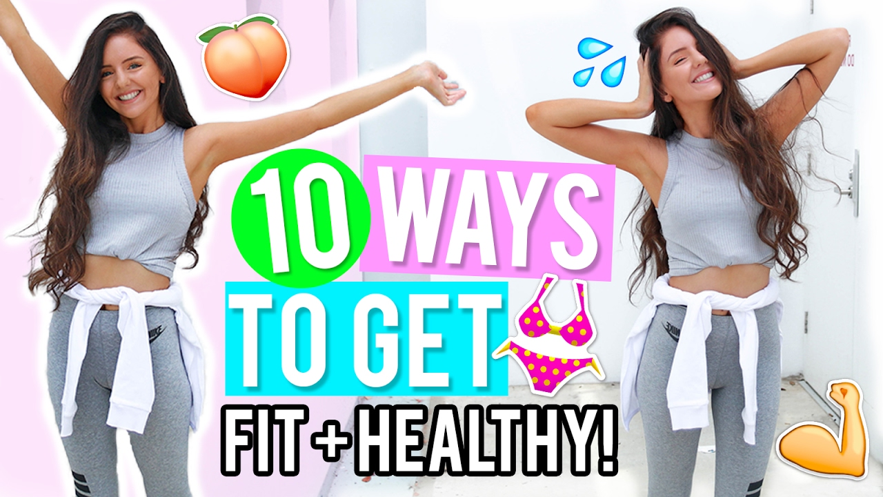<div>10 Ways to Get Healthy & Fit 2017! Healthy Lifestyle & Fitness DIYs, Life Hacks + Recipes!</div>