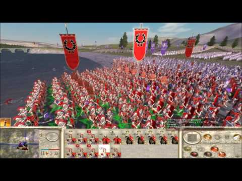 "Rome Total War online battle #2268: ""Bridge on the River WHY?!"""