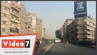 خريطة الحالة المرورية بالقاهرة الكبرى صباح اليوم الثلاثاء