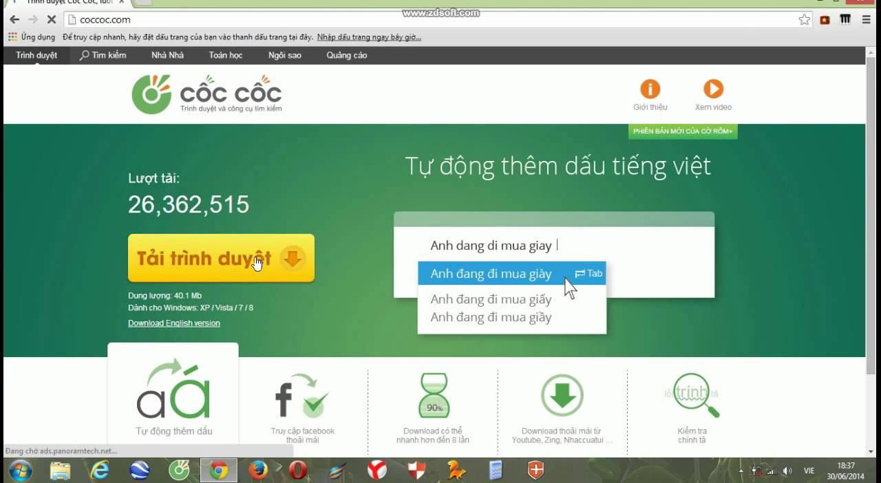 Вьетнамский браузер CocCoc и Opera в Турции добавили рекомендации «Яндекс.Дзена»