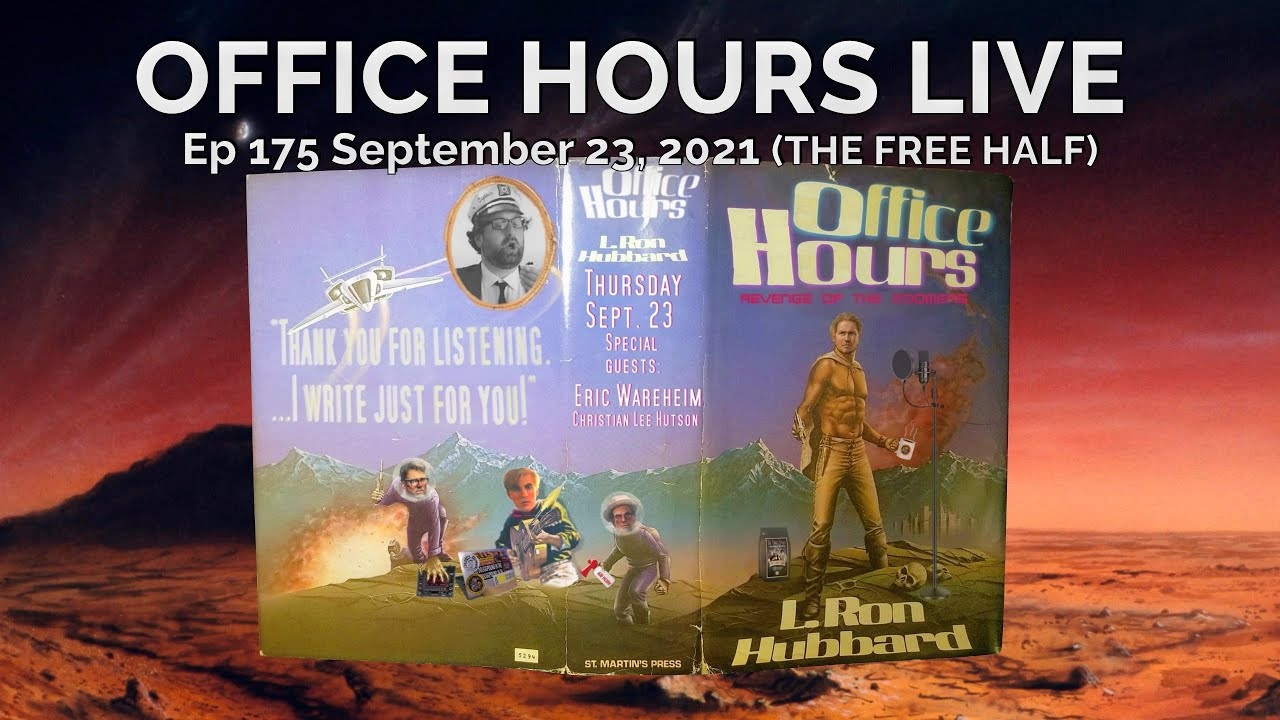 Download Eric Wareheim, Christian Lee Hutson on Office Hours Live (THE FREE HALF of Ep 175 9/23/2021)