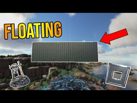 How To Make a FLOATING BASE in ARK!