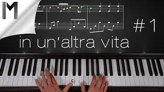 Скачать In Un Altra Vita Piano Tutorial Part 1