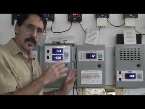 Wind turbine solar panel Led digital charge controller  Missouri Wind and Solar