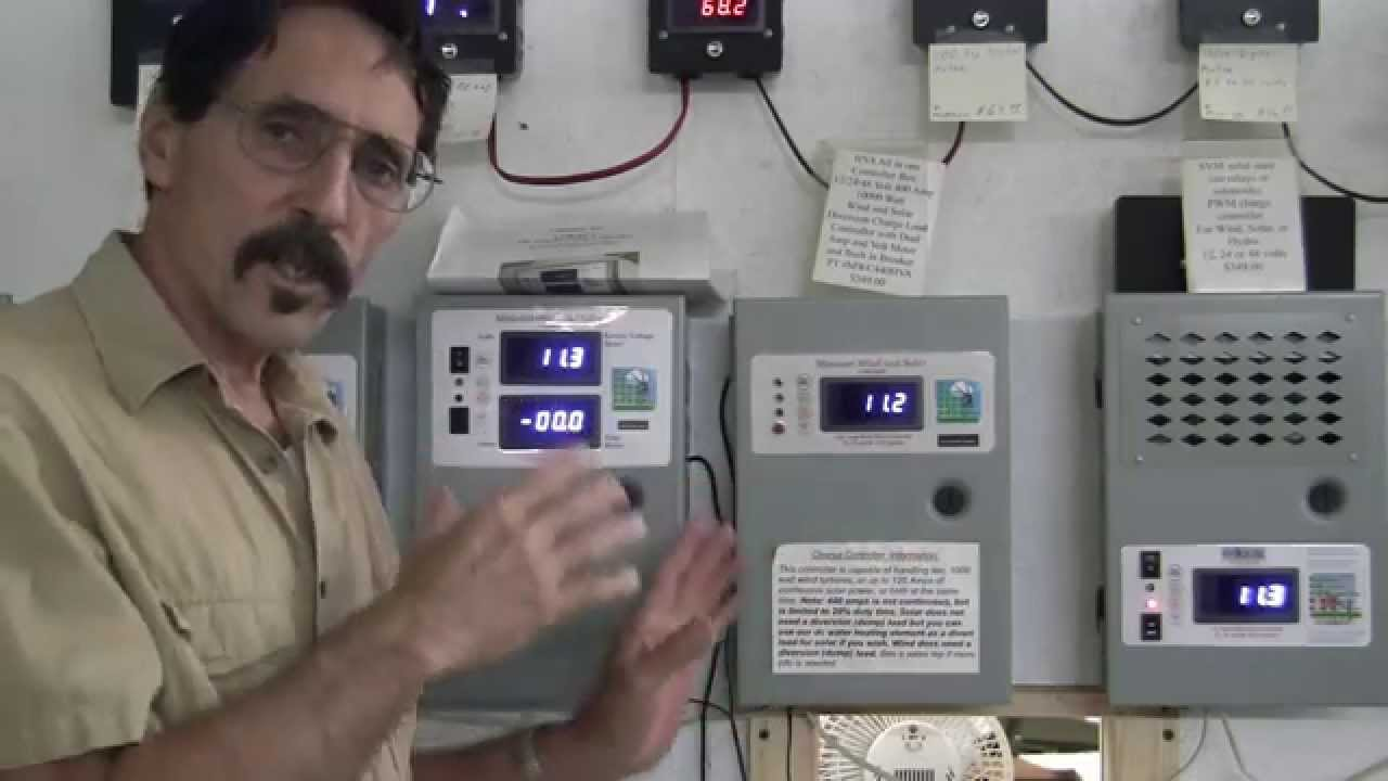wind turbine solar panel led digital charge controller missouri wind and solar [ 1280 x 720 Pixel ]