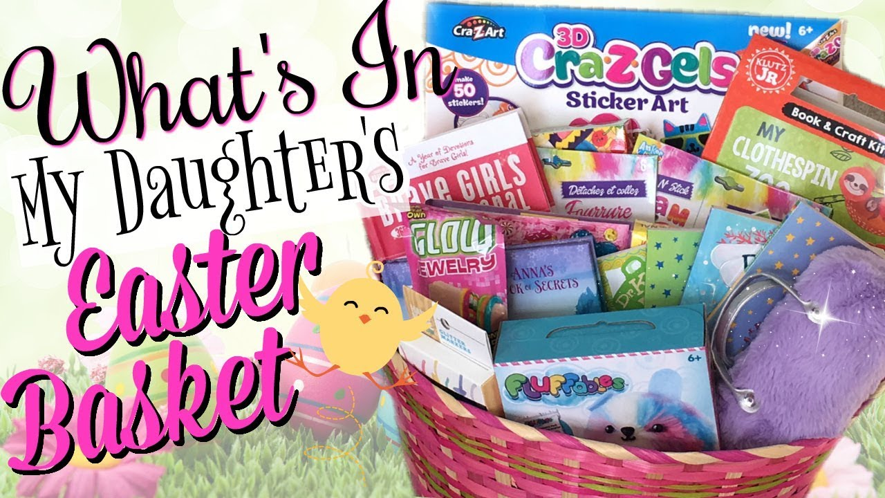 Easter baskets for girls whats in my 8 year olds easter basket easter baskets for girls whats in my 8 year olds easter basket 2018 negle Images