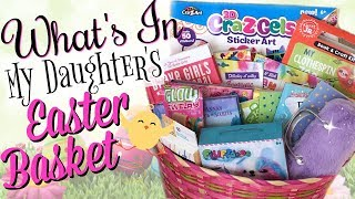 EASTER BASKETS FOR GIRLS! | What's in My 8 Year Old's Easter Basket 2018
