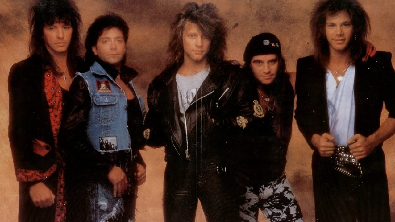 Bon Jovi Edge Of A Broken Heart Lyrics Youtube