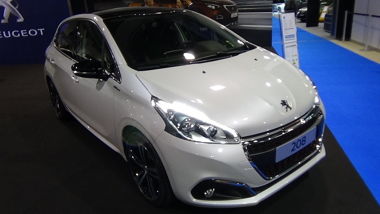 2017 peugeot 208 gt line puretech 110 exterior and for Peugeot 208 interior 2017