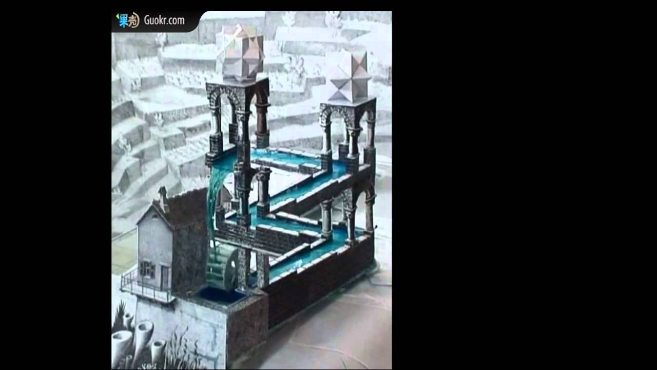 Perpetual Motion Machine The Real Life Version Of M C Escher S Waterfall Youtube