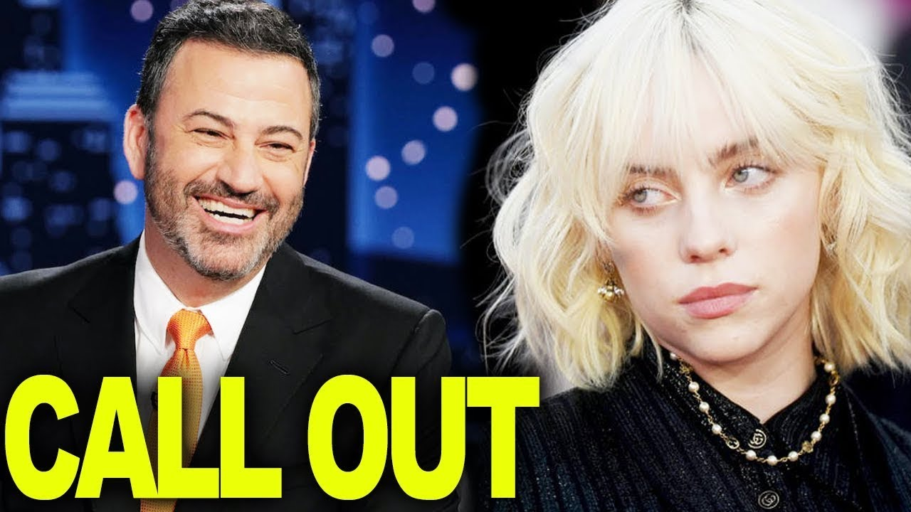 Billie Eilish Calls Out Jimmy Kimmel | Hollywire