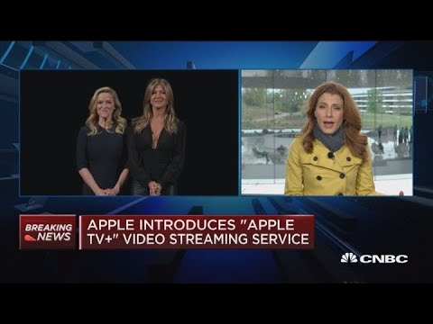 Spielberg, Oprah among those producing content for Apple's new video service