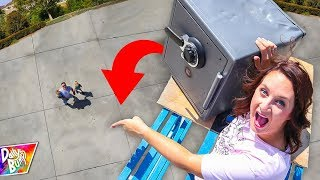 DROPPING ABANDONED SAFE OPEN!!