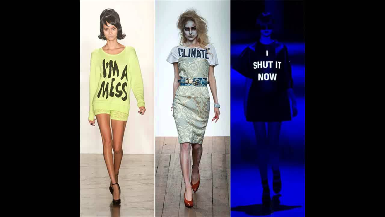 Let Your Clothes Speak For You: The Word Print Fashion Trend