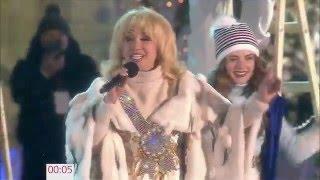 Ирина Аллегрова 'Новый год' Красная площадь Новогодняя ночь на Первом
