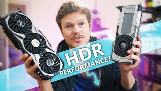 Does HDR Impact Gaming Performance?