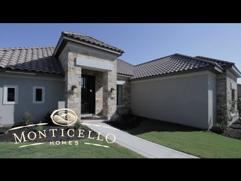 Monticello Homes - Luxury Tour - San Antonio