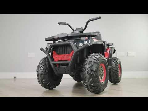 RiiRoo 24V Ride On Quad ATV Motorbike 24v Battery Electric Ride On Quad For Kids