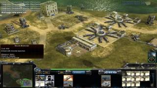 Command & Conquer Contra Mod: Super Weapon General vs Nuke General vs Stealth General