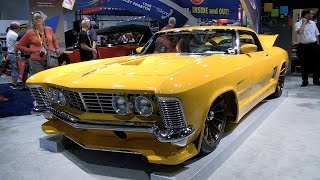 Ridler Winner JF Launier & His 1964 Buick Riviera Rivision at SEMA 2014