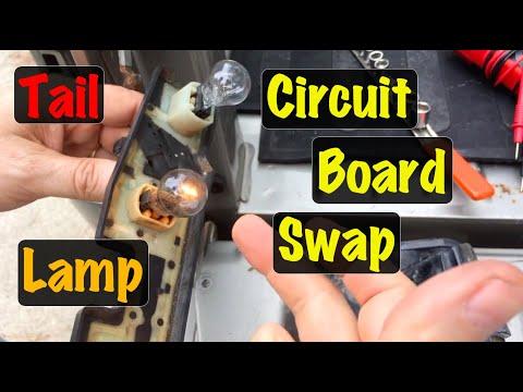 1988 Thru 1995 96 97 98 99 00 Gm Truck Tail Lamp Brake Light Circuit Board Repair Chevy Gmc Youtube