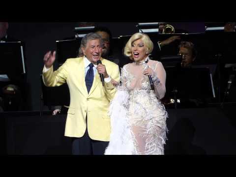 """It Dont Mean A Thing"" Tony Bennett & Lady Gaga@Borgata Event Center Atlantic City 7/24/15"