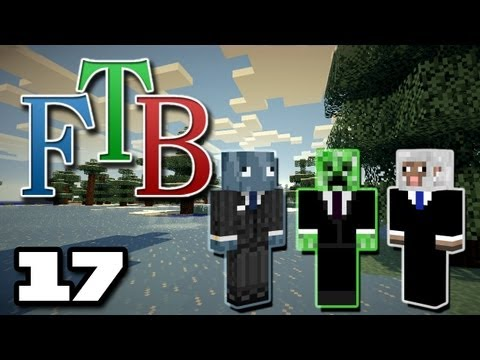 FTB Episode 17 - Swimming Creatures and Marble Bricks (The Creature Corp.)