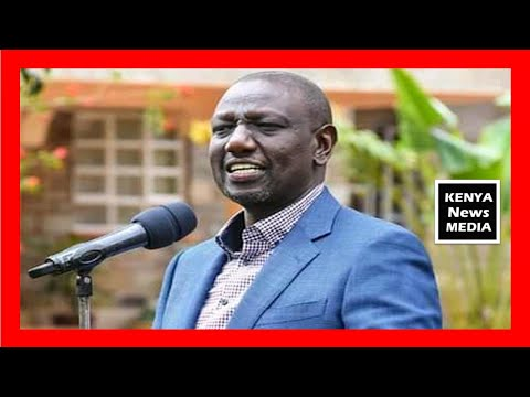 William Ruto speech at worship with religious leaders from Nyanza at Sugoi Home