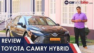 2019 Toyota Camry Hybrid Review | NDTV carandbike