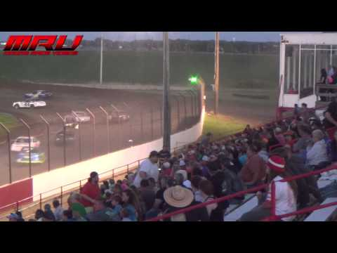 Stock Car A Feature at Park Jefferson Speedway on June 13th