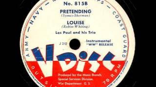 V-Disc 815  Eddie Haywood, Les Paul