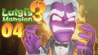 Luigi's Mansion 3 - Walkthrough #04 - The Garden Floor!