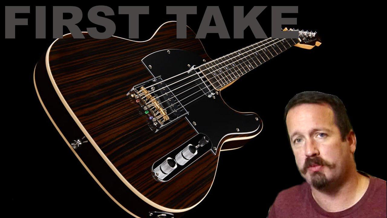 First Take - Harley Benton TE-70 Rosewood Fender Telecaster