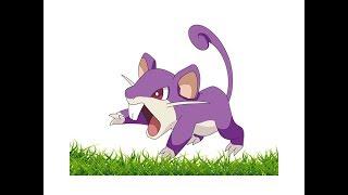 How To Draw Rattata || Draw Rattata From Pokemon GO Step By Step || Esy to Draw rattata carton kids