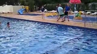 Aquarobic camping Caballo de Mar Spanje 2013