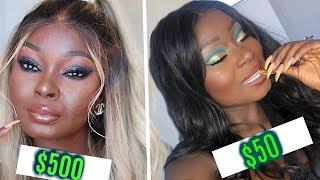 CHEAP VS EXPENSIVE MAKEUP | Shalom Blac